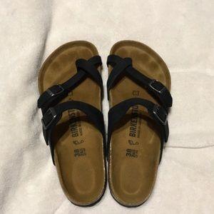 ae3216d4f02 Birkenstock slip on sandals.  45  120. Birkenstock Mayari
